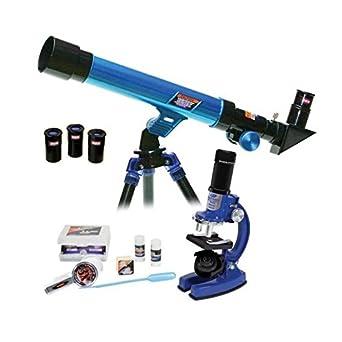 20721 Microscopio Y Micro Set Deluxe Telescopio En Estuche Science N0XZ8wnOPk
