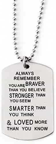 Christian Dogtag / Dog Tag - Premium Jewelry for Teens, Men & Women [Military Style]