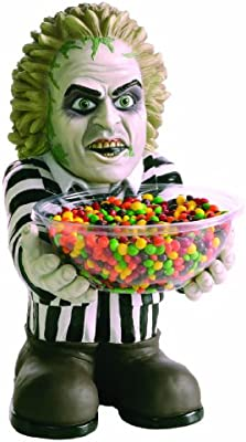 Amazon Com Beetlejuice Candy Bowl Holder Toys Games