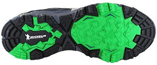 Omblue Scarpe Mujin Multicolore Mizuno Silv Green da Wave 5 Basse Uomo 001 Poison Ginnastica tzwqw685
