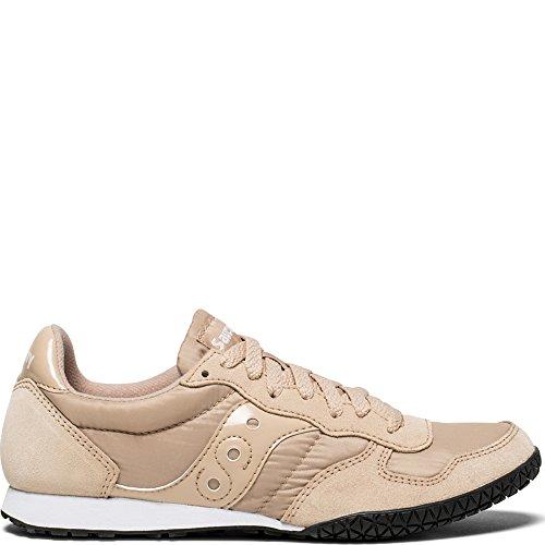 Saucony Originals Women's Bullet Running Shoe, tan, 8.5 Medium ()