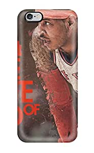 Protective Tpu Case With Fashion Design For Iphone 6 Plus (carmelo Anthony)