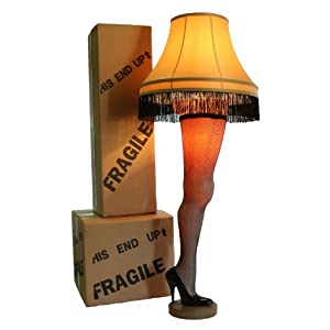 """A Christmas Story Deluxe Full Size 50"""" Leg Lamp 