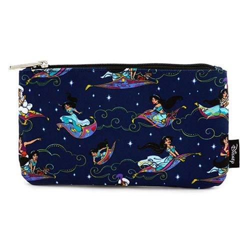 683840077f8 Amazon.com  Loungefly Aladdin Magic Carpet Ride Print Coin Cosmetic ...