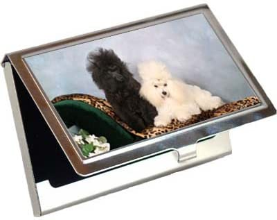 Credit Card Case Poodle Business Card