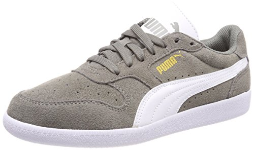 Gris Icra steel White Adulte Mixte Sd Gray puma Trainer Basses Baskets Puma qUx0awf0