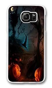Happy Halloween 4 Polycarbonate Hard Case Cover for Samsung S6/Samsung Galaxy S6 Transparent Kimberly Kurzendoerfer