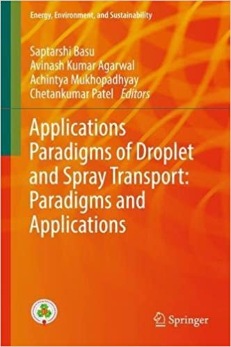 Applications Paradigms of Droplet and Spray Transport: Paradigms and Applications (Energy, Environment, and Sustainability)