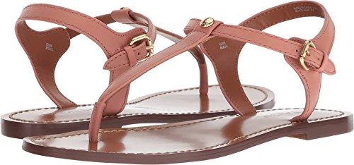 Coach Women's T-Strap Sandal Melon Leather 8 M US