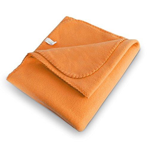 Deconovo Super Warm Throw Blanket Extra Soft Brushed Coral B