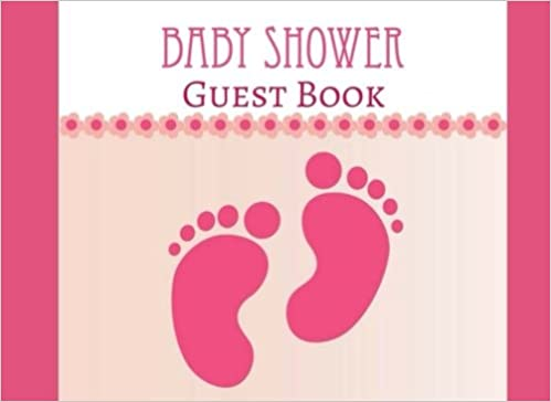amazoncom baby shower guest book modern welcome baby message book photo memory journal advice for parents and wishes for baby guestbook with gift