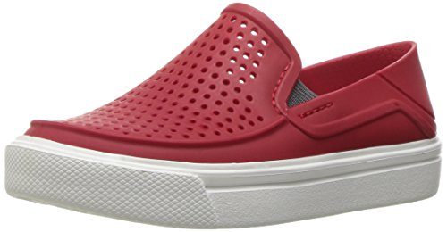 crocs Kids' Citilane Roka K Flat, Pepper, 7 M US Toddler by Crocs