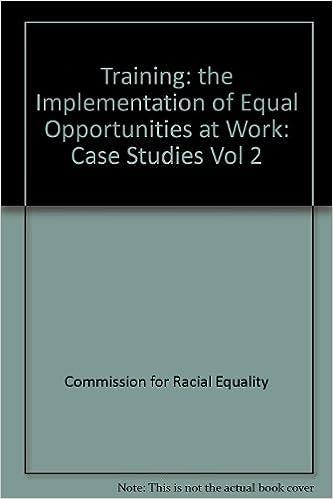 Livres numériques téléchargeables gratuitement pour kindle Training: the Implementation of Equal Opportunities at Work: Case Studies Vol 2 in French PDF DJVU FB2