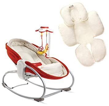 Baby Tiny Love Rocker Red Baby Chair