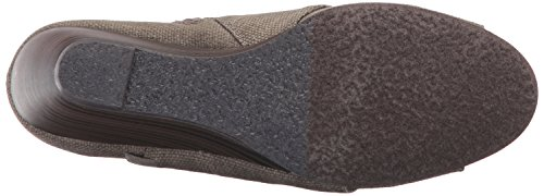 Blowfish Womens Bonnie Enkellaarsje Bruin Rancher Canvas / Whiskey Dyecut