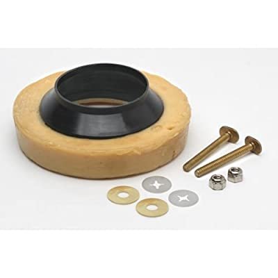 PROFLO PFWRWHWB Wax Ring with Horn and Bolt Kit,