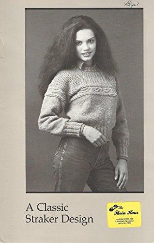 Greta A Classic Straker Design Sweater Knitting Instructions #876