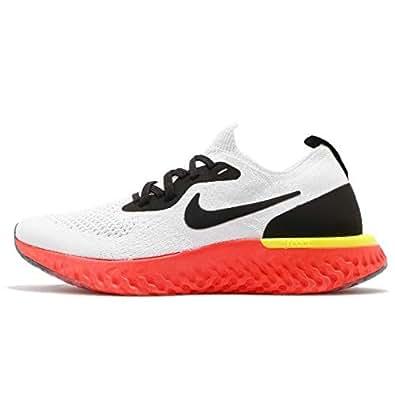 Amazon.com | Nike Kid's Epic React Flyknit GS, True White
