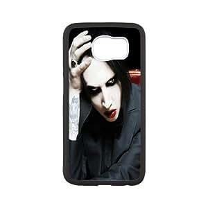 Samsung Galaxy S6 Cell Phone Black Marilyn Manson 218y-075065
