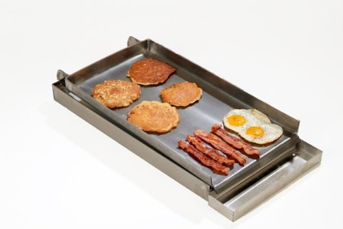 Rocky Mountain Cookware MC12-8 2-Burner Commercial Add on Griddle