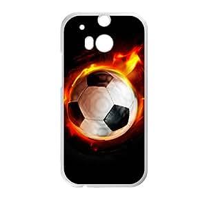 Zero Fire Football Custom Protective Hard Phone Cae For HTC One M8