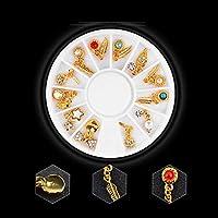 Kanggest. 12pcs de decoración de uñas Arte Navidad Serie Parche ...