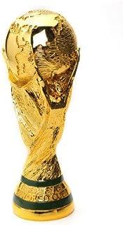 Coupe du Monde Trophée Replica Football Fans De La FIFA Coupe du Monde Modèle Cadeau De Placage De Football Médaille Modèle 3D Gold Résine Artisanat