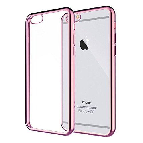200 opinioni per iPhone 6S Custodia- iHarbort protettiva per iPhone 6 6S trasparente molle Gel