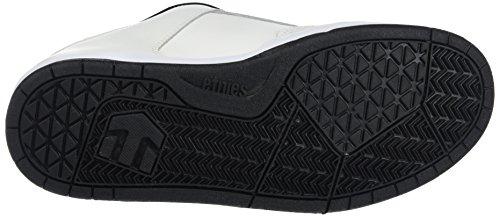 Etnies Kartel - Zapatillas de skate Hombre Blanco - Weiß (110 / WHITE/BLACK)