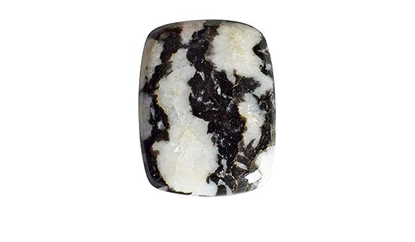 24 Carat Natural Zebra Jasper Loose Gemstone Cabochon 19 X 29 X 5 MM