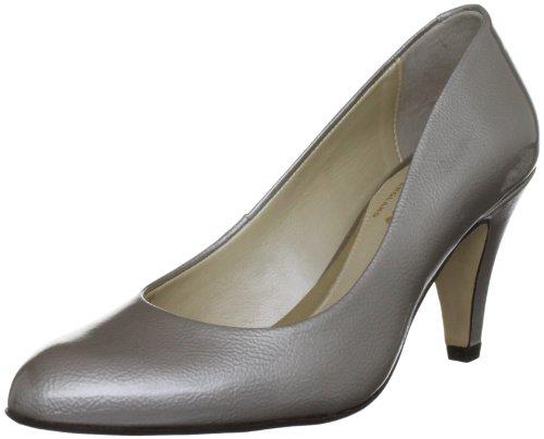 Van Dal Holt - zapatos de tacón de charol mujer gris - Champagne Feature