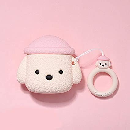 Cute Dog Airpods Case Cover Soft Silicone Airpods Cover for Apple Airpods 1 and 2 A- Airpods Case Color : Puppy Suit, Size : Airpods1//2//pro.