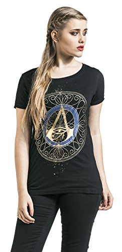 Assassins Creed - Origins Empire Gold Logo T-Shirt M [Edizione: Germania]