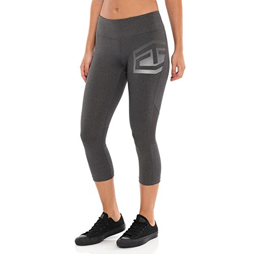 (Tapout Headliner Charcoal Heather Women's Capris Large)