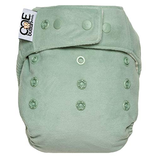 GroVia O.N.E. Reusable Baby Cloth Diaper (Glacier)