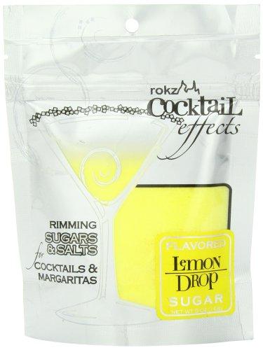 Rokz Design Group Cocktail Sugar, Lemon Drop, 5 (Lemon Drop Mixer)