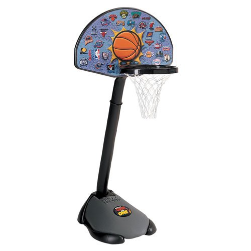 5HNBA2 Basketball System 24 inch Backboard - Lifetime & Spalding Hoops