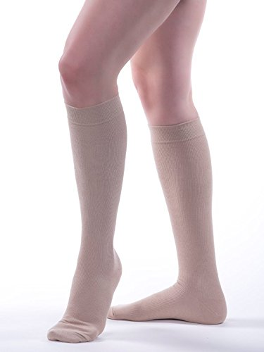 - Allegro 20-30 mmHg Premium 113 Italian Cotton Knee High Compression Sock