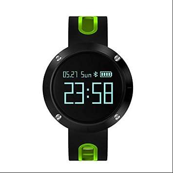 Podómetro Correr pulsómetro reloj inteligente, Smartwatch ...