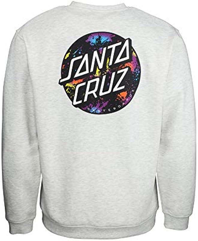 Santa Cruz męska bluza w kropki: Odzież