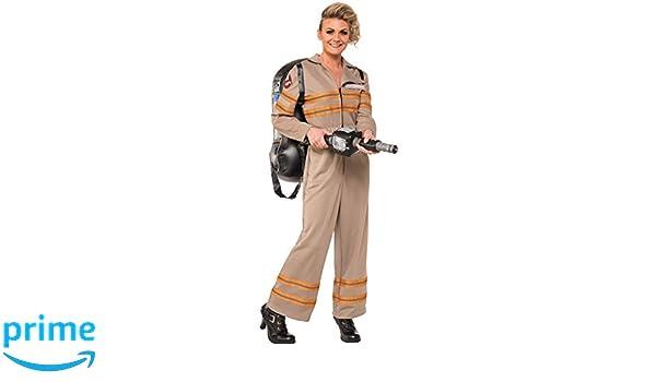 Ghostbusters - Disfraz de Cazafantasmas Deluxe para mujer, Talla S ...