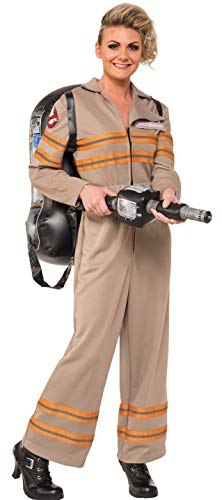 Group Halloween Costume Ideas For Work (Rubie's Costume Co Women's Ghostbusters Movie Deluxe Costume, Multi,)