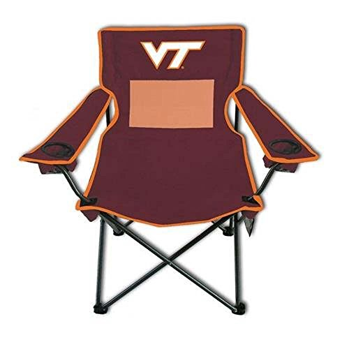 Logo Outdoor Chair (Rivalry Team Logo Picnic Outdoor Events Virgnia Tech Monster Mesh Adult Chair)