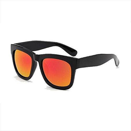 Film Polarizer gafas femeninas sol The mercury Gafas Gafas sol Color de UVB Square Black Anti miopes Box UV frame de Driver frameis Color retro WLHW Glare UVA black con Hombres golden Drive IwT8xt