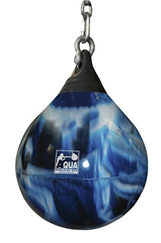 Bad Boy Blue Aqua Punching Bag 18 Inch, 120 Pound Heavy Punching Bag