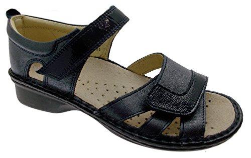Extra Orthopédique Chaussure 40 Large Loren Sandale Loren M2524 Bleu M2524 naBvHZxqP
