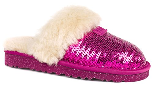 Australia Dazzle Canvas Purple Slipper product image