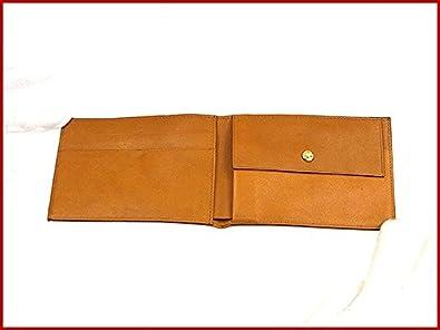 U386 フェンディ ライトブラウン 【中古】 FENDI GG柄 二つ折り財布 レディース