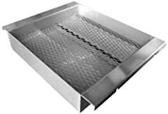 Turn part of your Cal Flame grill into a charcoal and gas grill. Load removable tray with charcoal of your choice.