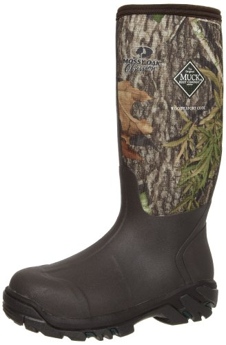 MuckBoots Woody Sport Cool Hunting Boot,Mossy Oak Obsession,13 M US Mens/14 M US (Ankle Boots Janet &)